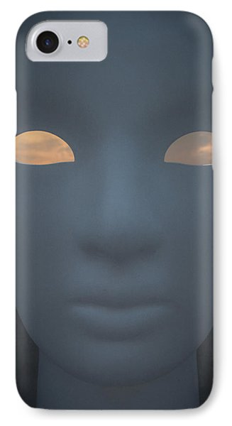 With The Sky In The Eyes IPhone Case