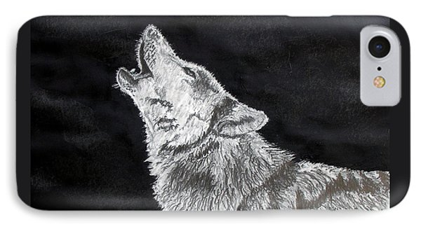Wolf Howl IPhone Case