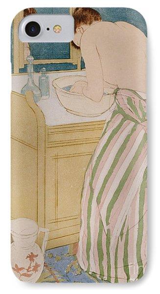 Woman Bathing IPhone Case