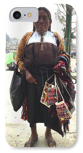 Woman In Chiapas. IPhone Case