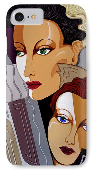 Woman Times Three IPhone Case