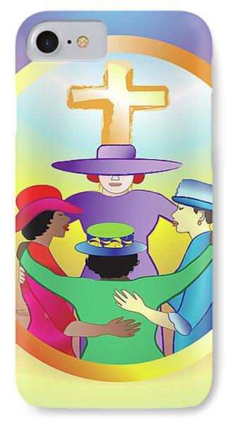 Women's Circle Of Faith IPhone Case