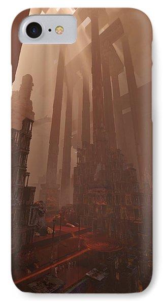 Wonders_temple Of Artmeis IPhone Case