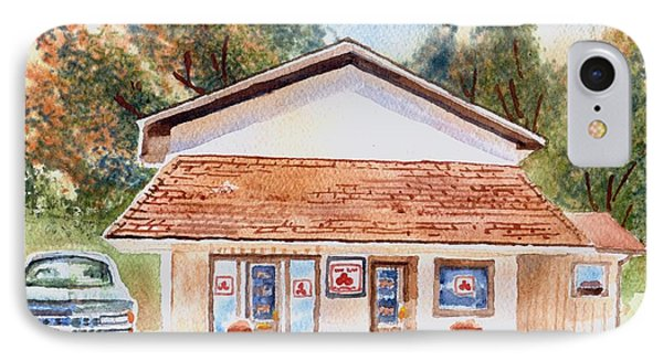 Woodcock Insurance In Watercolor  W406 IPhone Case
