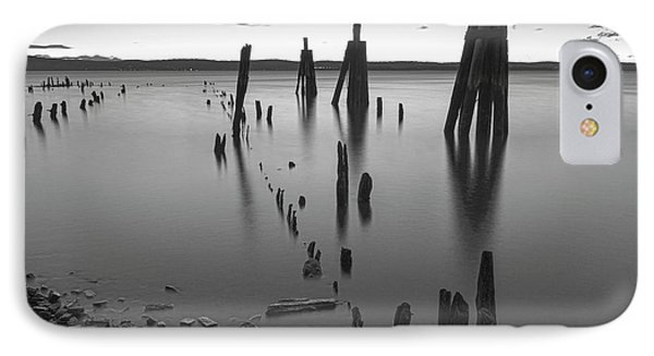 Wooden Soldiers Of The Hudson Monochrome IPhone Case