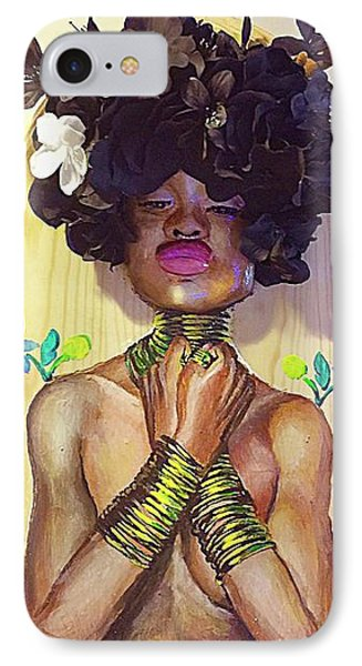 Woodgoddess IPhone Case