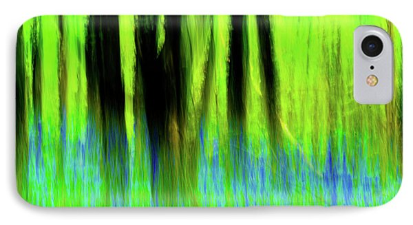 Woodland Abstract Vi IPhone Case