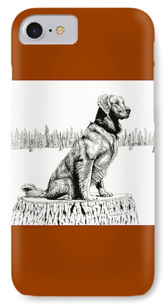 Woods Dog IPhone Case