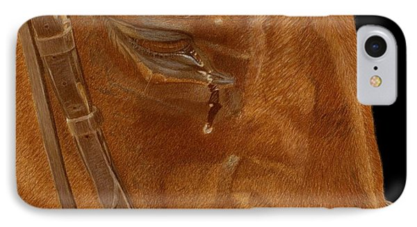 Workhorse Blues - Horse Painting IPhone Case
