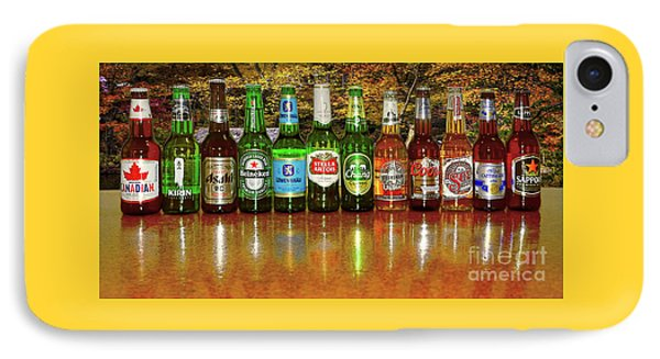 IPhone Case featuring the photograph World Beers By Kaye Menner by Kaye Menner