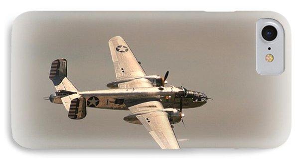 World War II B25 Mitchell Bomber IPhone Case