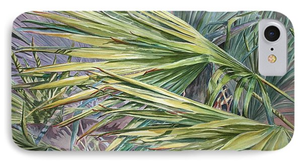Woven Fronds IPhone Case
