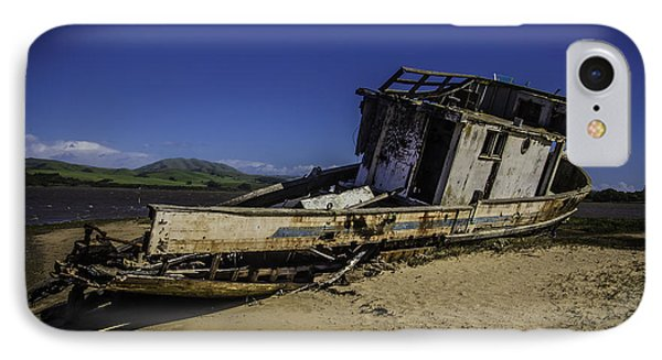 Wrecked On A Sand Bar IPhone Case