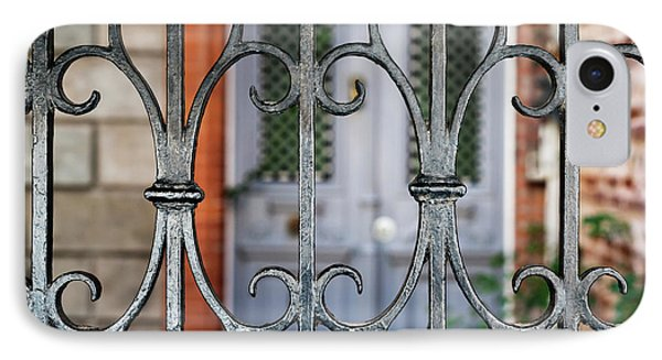 Wrought Iron IPhone Case
