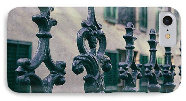 Wrought Iron Fence IPhone Case