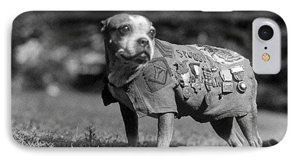 Wwi, Sergeant Stubby, American War Dog IPhone Case