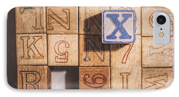 X Blocks IPhone Case
