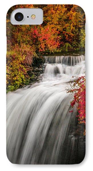 Fall At Minnehaha Falls IPhone Case