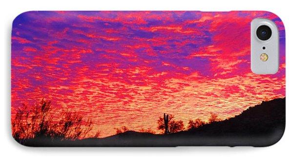 Y Cactus Sunset 1 IPhone Case