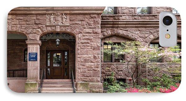 Yale University Warner House IPhone Case