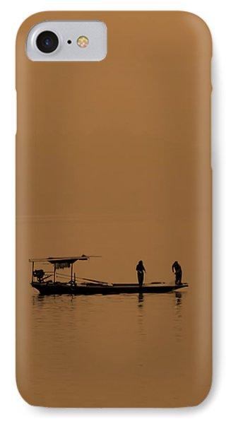 Yangtze Fishermen IPhone Case