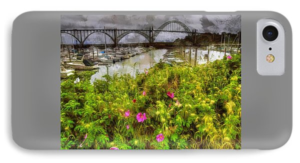 Yaquina Bay Roses IPhone Case