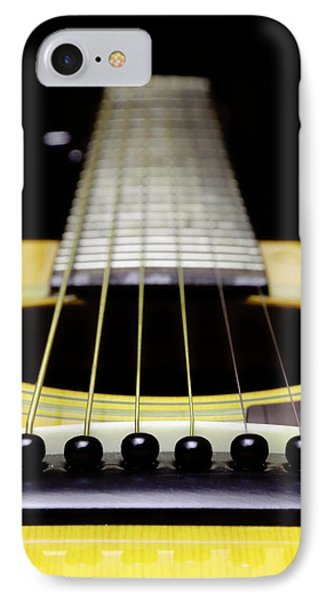 Yellow Guitar 17 IPhone Case