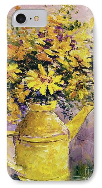 Yellow Pot Of Sunshine IPhone Case