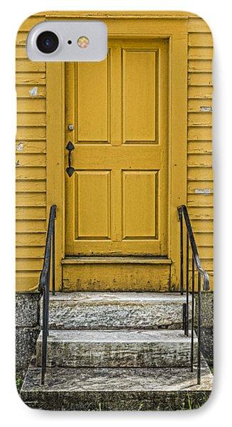 Yellow Shaker Door IPhone Case