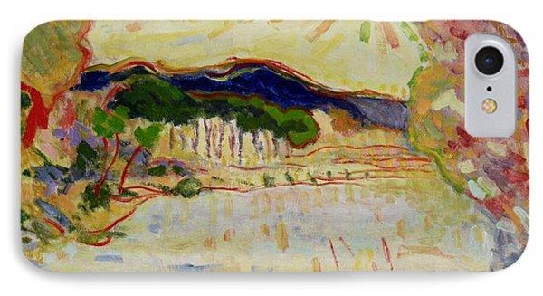 Beynac Et Cazenac , Dordogne , Yellow Sunshine  IPhone Case