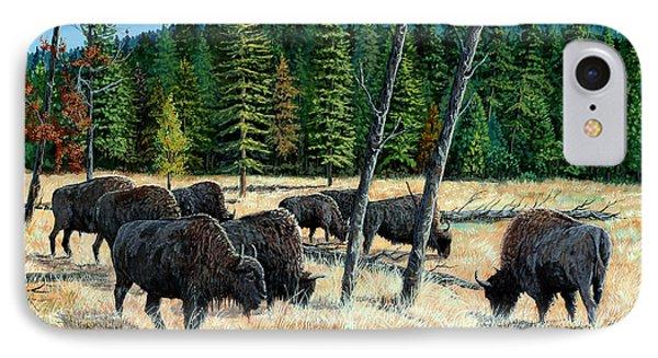 Yellowstone Grazers IPhone Case
