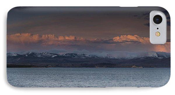 Yellowstone Lake At Sunset IPhone Case