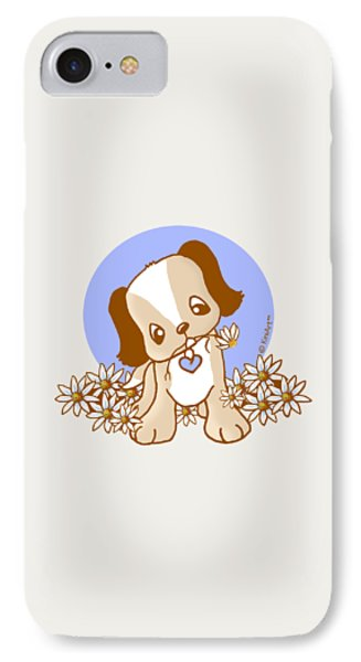 Yittle Puppy IPhone Case