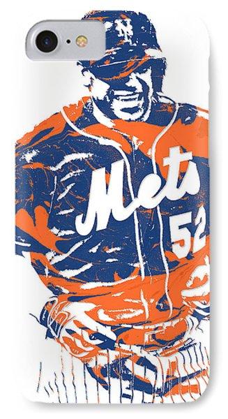 Yoenis Cespedes New York Mets Pixel Art 3 IPhone Case