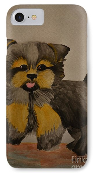 Yorkie Youth IPhone Case
