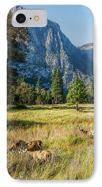 Yosemite Valley At Yosemite National Park IPhone Case