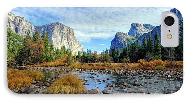 Yosemite Valley View IPhone Case