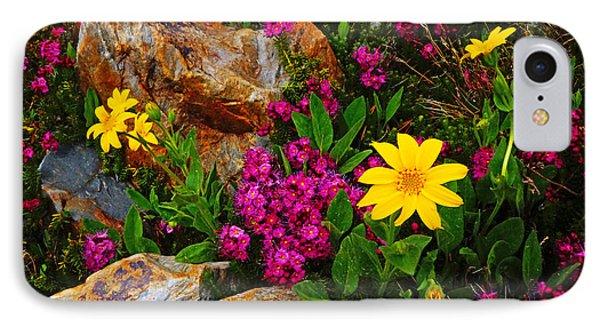 Yosemite Wildflowers IPhone Case