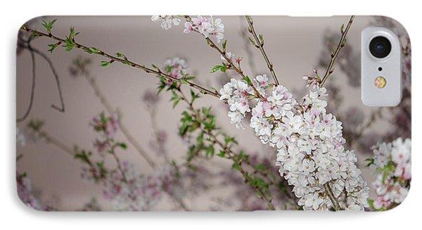 Yoshino Cherries Lavender IPhone Case