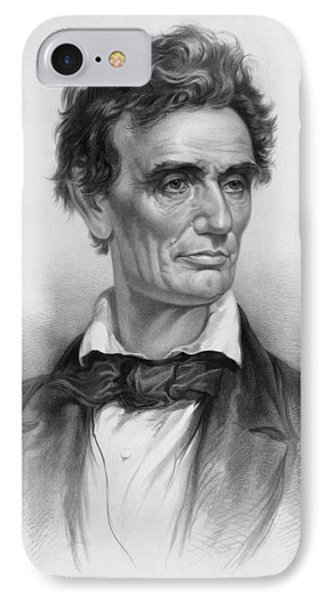 Young Abe Lincoln IPhone Case
