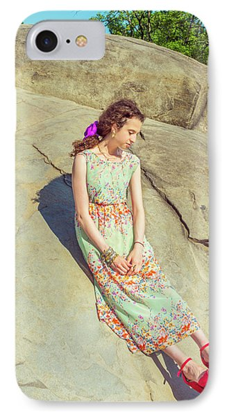 Young American Woman Summer Fashion In New York IPhone Case