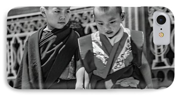 Young Monks - Buddies Bw IPhone Case