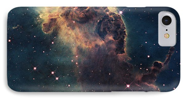 Young Stars Flare In The Carina Nebula IPhone Case