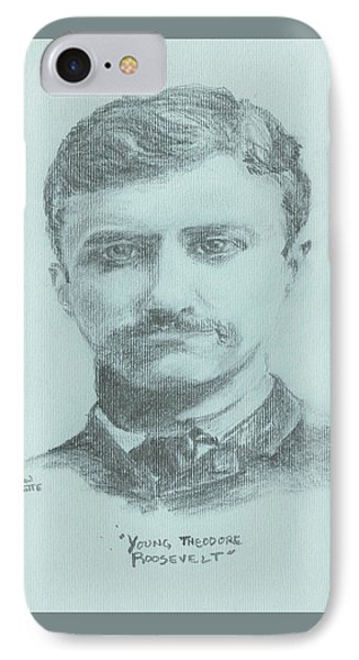 Young Theodore Roosevelt IPhone Case