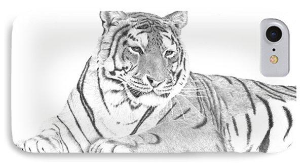 Zarina A Siberian Tiger IPhone Case