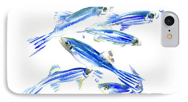 Zebra Fish, Danio IPhone Case