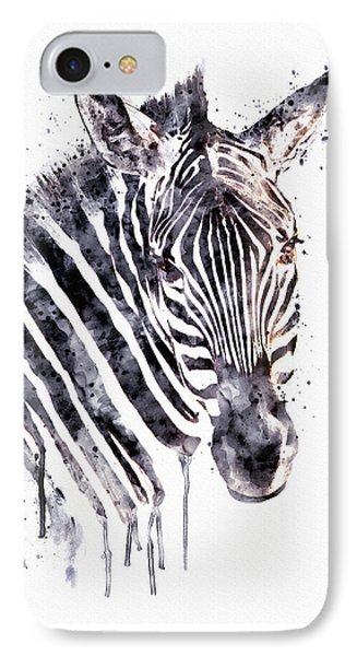 Zebra Head IPhone Case