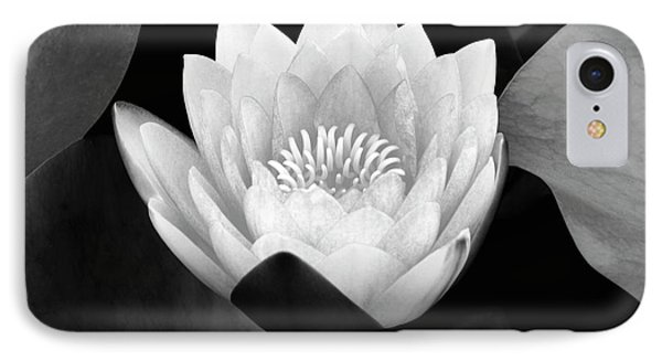 IPhone Case featuring the photograph Waterlily Rising by John F Tsumas