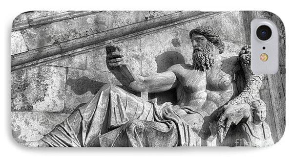Zeus Black And White IPhone Case