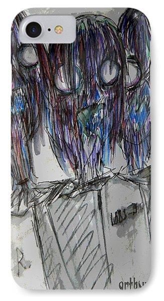 Zombie Trio IPhone Case